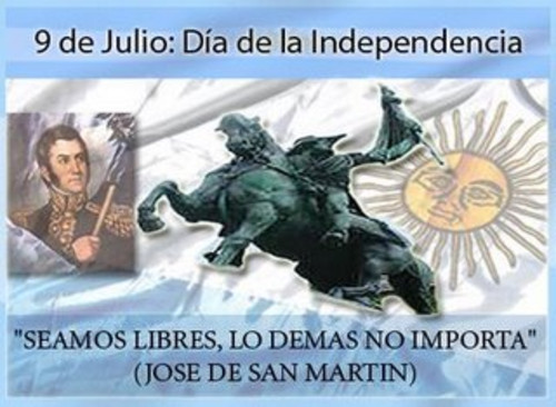9 de julio d a de la independencia argentina fisk vila for Sala 9 de julio