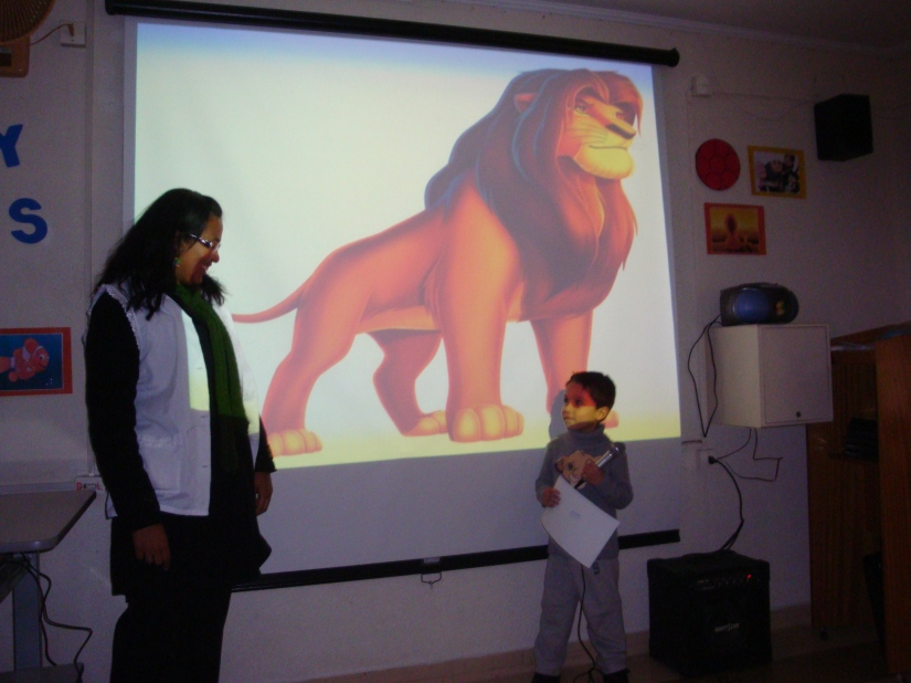 LION KING - My First English Adventure - Teacher Cássia