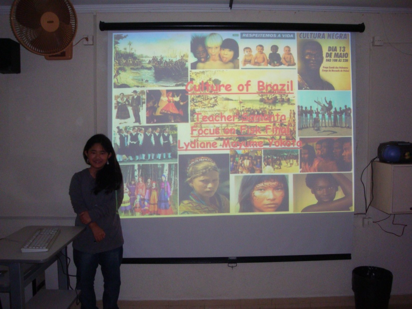 """Culture of Brazil: """"Our culture is something that catches the eye and shows one of the best sides of this so rich and multiracial place."""" -  Lydiane Mayume Yokota"""