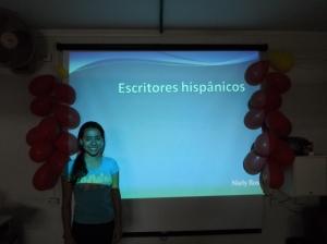 Presentación sobre escritores hispanos y sus obras