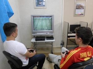 Juego de fútbol em play2
