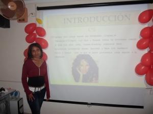 Presentación sobre la actriz mexicana Barbara Mori - protagonista de la novela Rubi