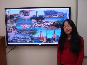 "The theme ""San Francisco"" was chosen thinking that the city is now one of many places I can leran about, going there and practicing my English.""  - Geovana A. Nakamura"