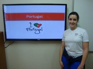 """Top 5 places to visit in Portugal: Lisbon, Algarve, Sintra, Porto and Coimbra."" - Talita de Fátima Norte Cândido"