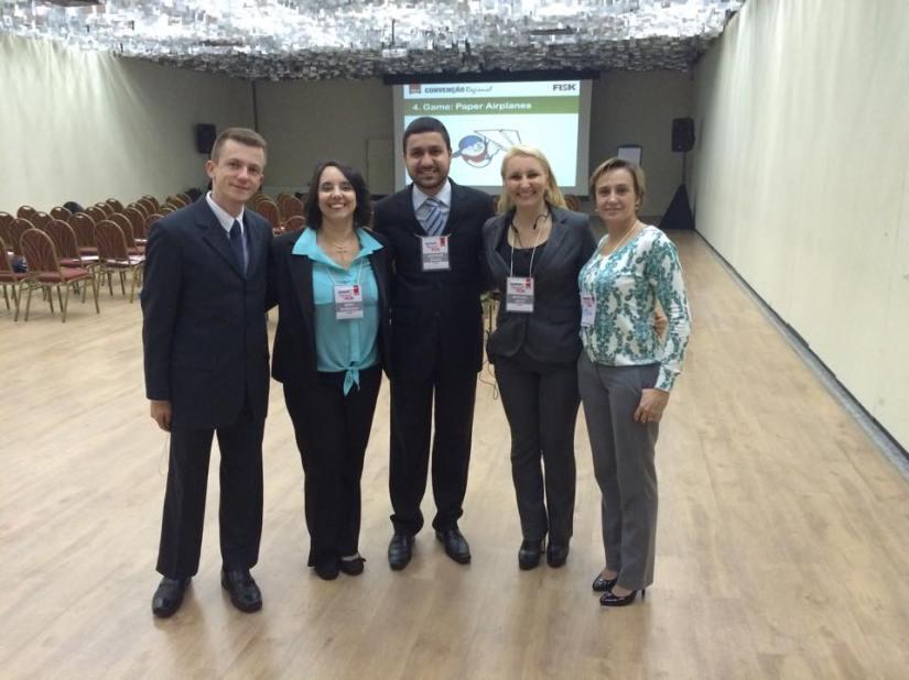 Equipe de palestrantes da Fundação Fisk