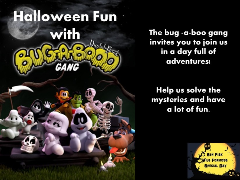 2 - Halloween fun - english chamada