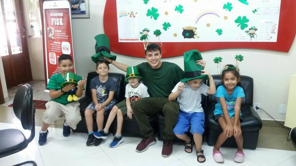 Patrick's Students